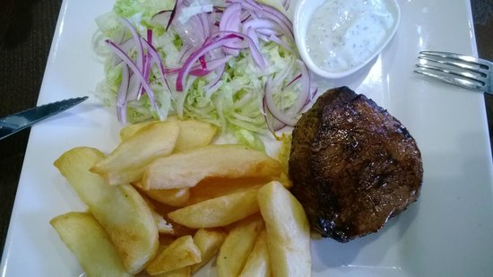 The Roebuck: Cajun Fillet Steak