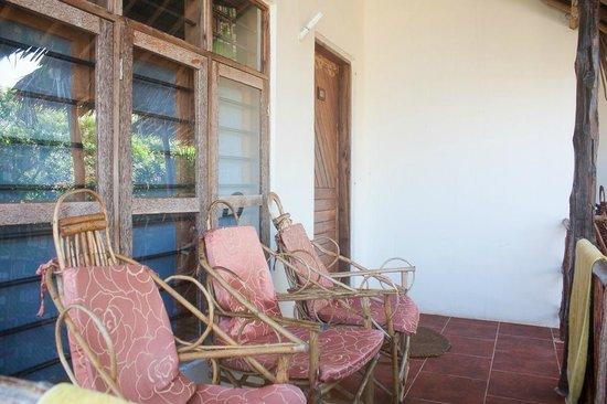 Zanzibar Star Resort: La veranda