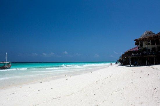 Zanzibar Star Resort: La spiaggia di Nungwi