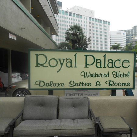 Royal Palace Westwood : Accueil