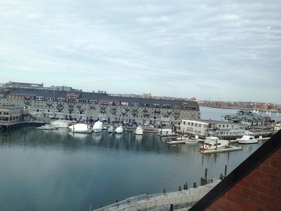 Boston Marriott Long Wharf : View from our room.