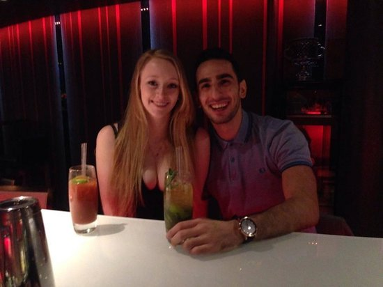 Rafayel on the Left Bank - Hotel & Spa: couple of drinks after a lovely dinner