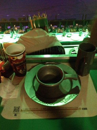 Medieval Times Buena Park: Table setting
