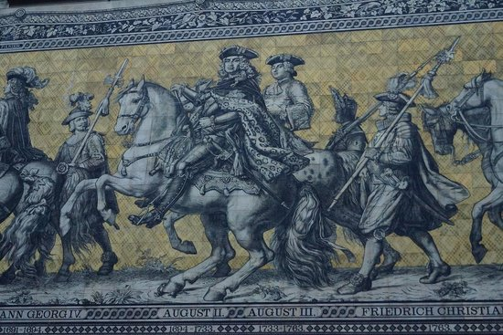 Fürstenzug: ドレスデン君主の行列