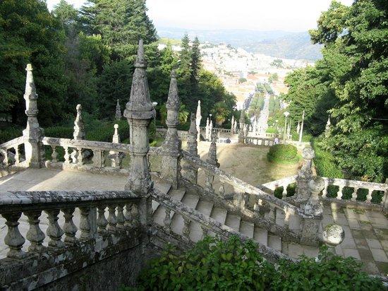 Santuario Nossa Senhora dos Remedios: Uitzicht op Lamego