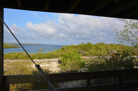 Finch Bay Galapagos Hotel: Our amazing view