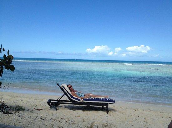 Scrub Island Resort, Spa & Marina, Autograph Collection: Private beach area North Beach