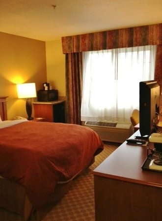 Country Inn & Suites By Carlson, Portland Airport: Comfortable room with current decor