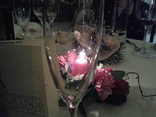 Restaurante Amador : Velada nocturna