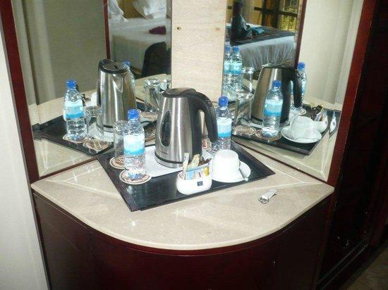 Nyumbani Hotel & Resort Moshi: You can have some tea :-)