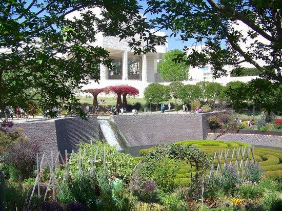 Getty Center : Jardin somptueux