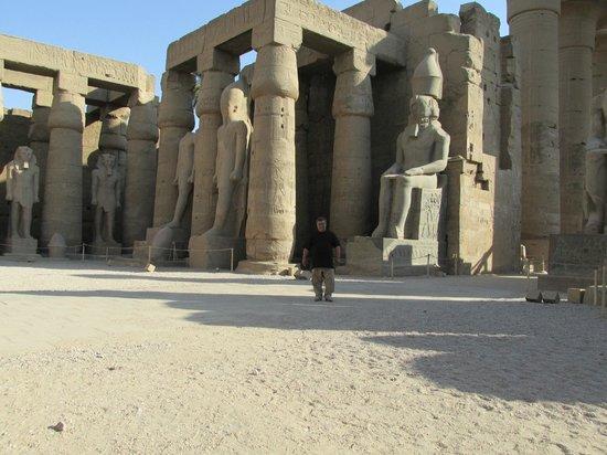 Templo de Luxor: Interiores del complejo