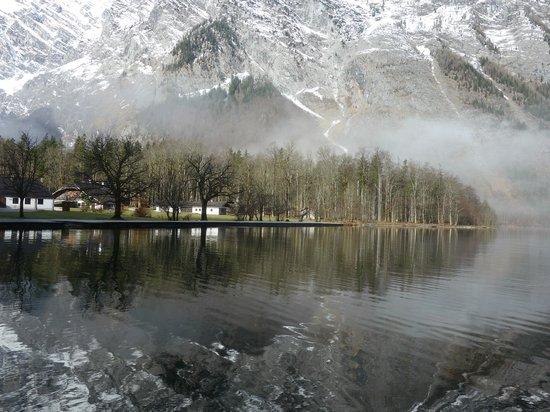 Königssee : 國王湖湖畔倒影