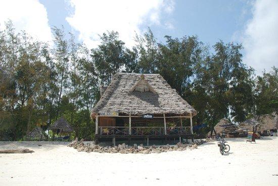 """Ndame Beach Lodge Zanzibar: Ndame beach bar - """"Sand Sea Bar"""""""