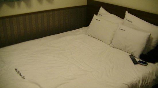 Global Inn Dongdaemun City Days Inn: Bed