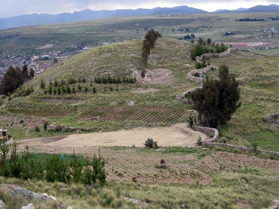 MIRADOR DEL TITIKAKA: View from the Mirador del Titicaca Estate