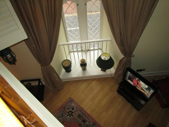 Morpeth Court Luxury Serviced Apartments: view from upstairs