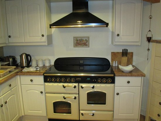 Morpeth Court Luxury Serviced Apartments: Kitchen - nice stove