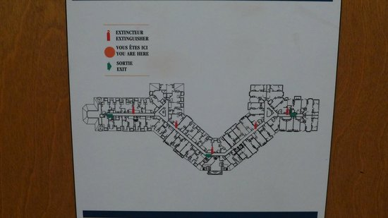 Tour des Voyageurs: 建物の見取り図
