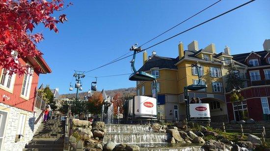 Tour des Voyageurs: 無料のゴンドラ