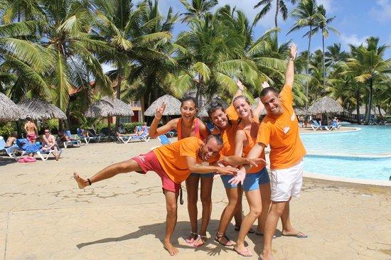 Tropical Princess Beach Resort & Spa : La super équipe d'animateurs francophones