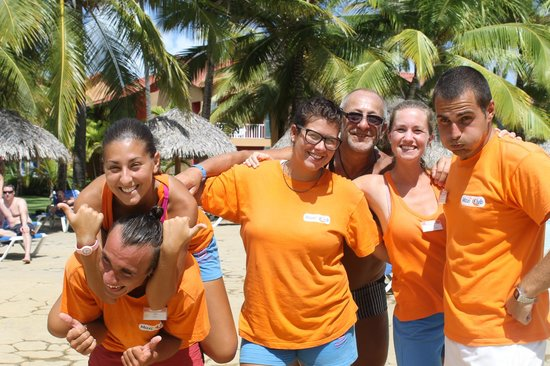 Tropical Princess Beach Resort & Spa: toujours la super équipe
