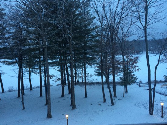 Woodloch Pines Resort: Our view from mount laurel suite