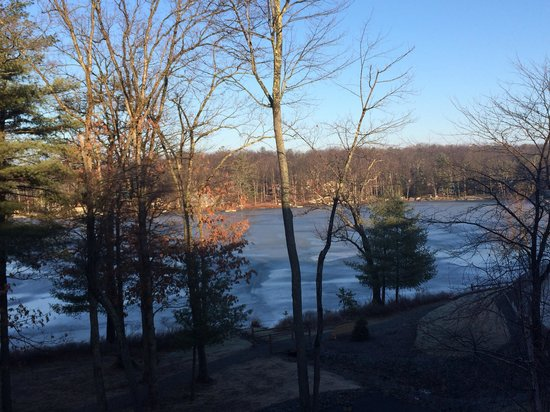 Woodloch Pines Resort : Before the snow fall