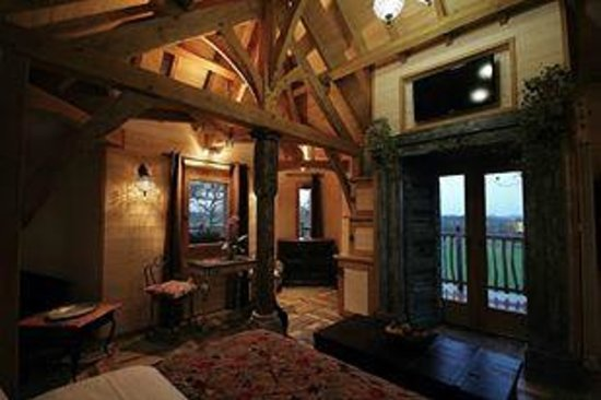 Châteaux Dans les Arbres : Vue intérieure