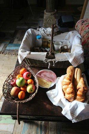 Châteaux Dans les Arbres : Petir déjeuner BIO