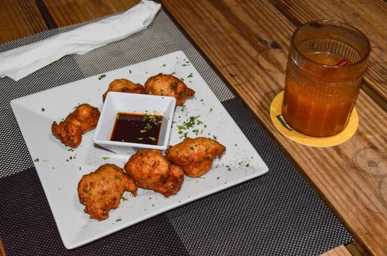 Jam Rock: conch fritters