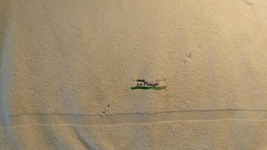 La Posada de Madryn : toallon roto