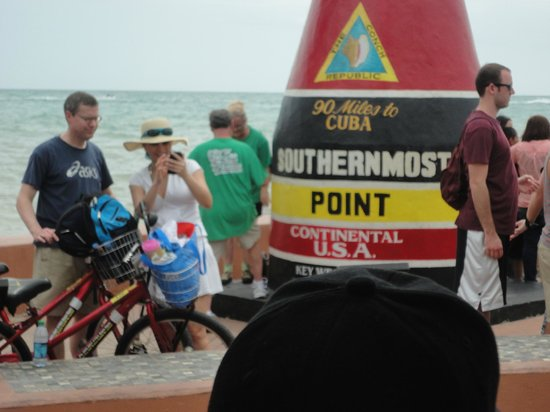 Conch Tour Train : southern tip of Key West
