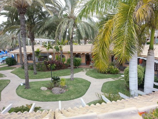 Hotel Dunas Suites and Villas Resort: Dunas Maspalomas Suites garden