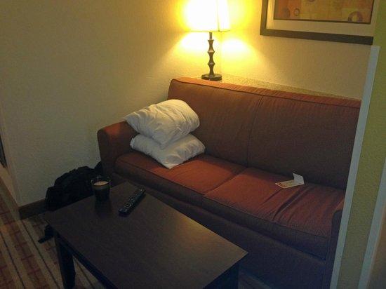 Comfort Suites: sitting area