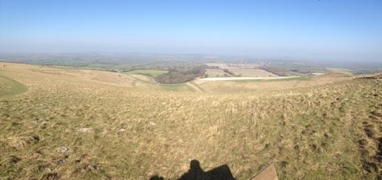White Horse Hill: Northwards.
