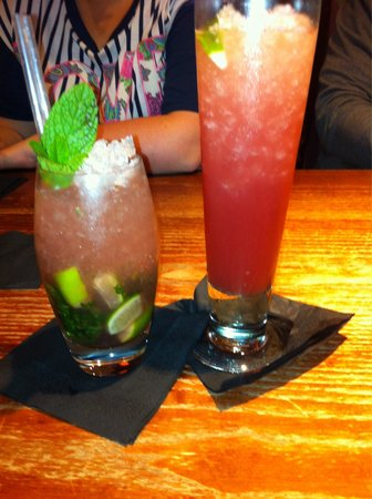 Chiquito: Our beautiful cocktails!