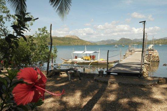 Discovery Island Resort and Dive Center: l'arrivée et malheureusement le départ...