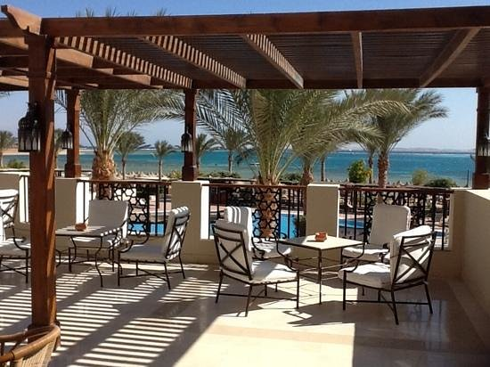 Jaz Belvedere: Hotel terrace