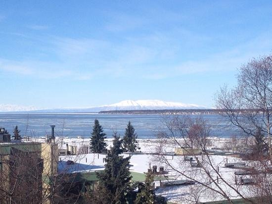 Susitna Place: view from our balcony