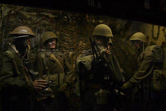 General Patton Memorial Museum : soldati