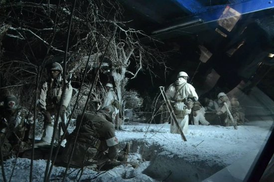 General Patton Memorial Museum : soldati in azione