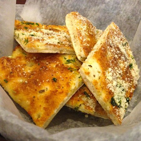Russo's Coal Fired Italian Kitchen: Complimentary Bread