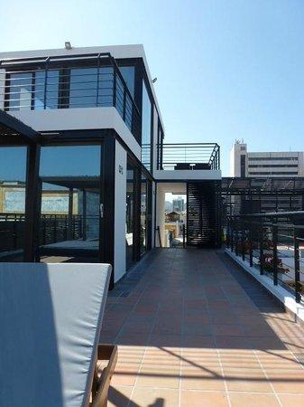 Hotel Boutique Casa Carolina: roof lounge
