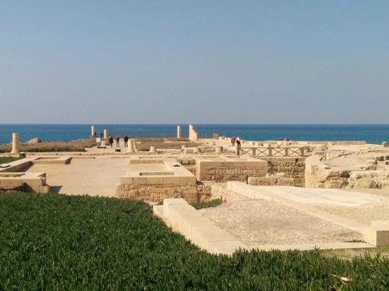 Caesarea, Israel: The ruins
