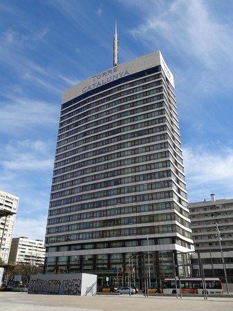 Gran Hotel Torre Catalunya: Facade