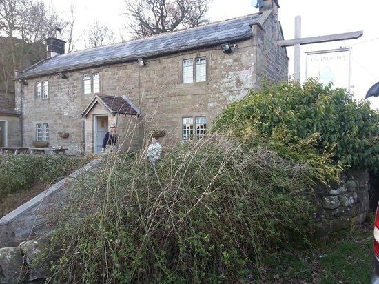 Druid Inn Birchover : The Druid Inn, Birchover, Derbyshire.