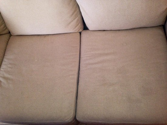The Westin Cape Coral Resort At Marina Village: Sofa with old stains
