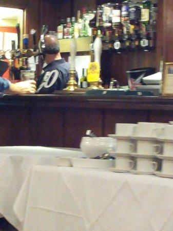 Manor House Hotel & Spa: bar