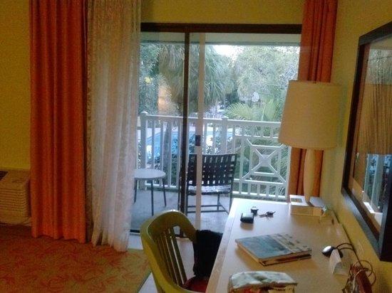 Hotel Indigo Miami Lakes: balcony